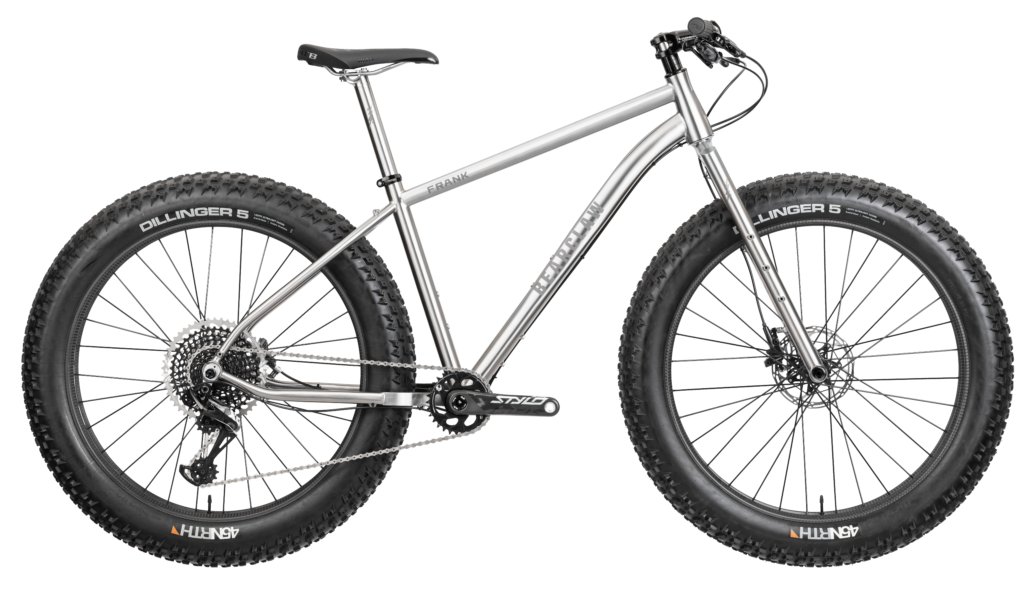 Bearclaw Frank Fat Bike Titanium